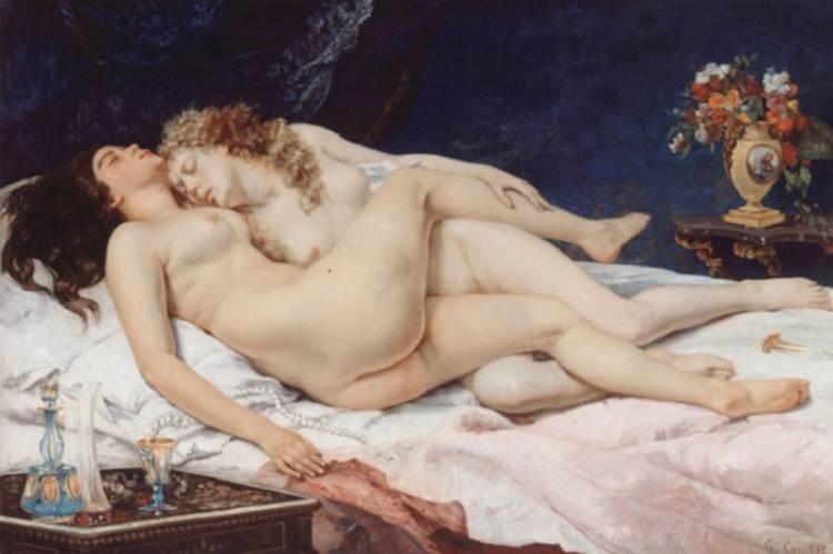 Gustave Courbet: Az álom