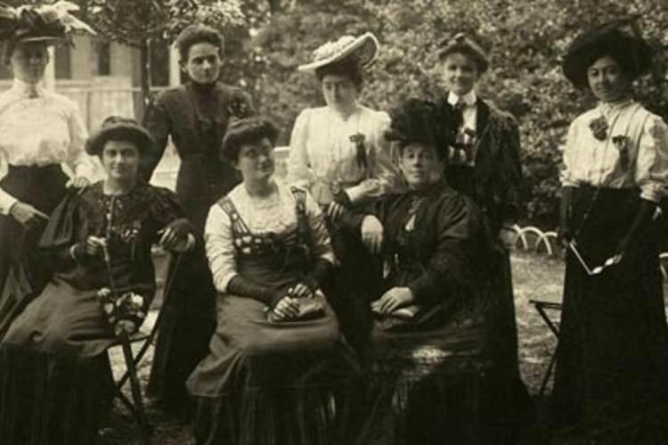 A Feministák Egyesületének néhány tagja
