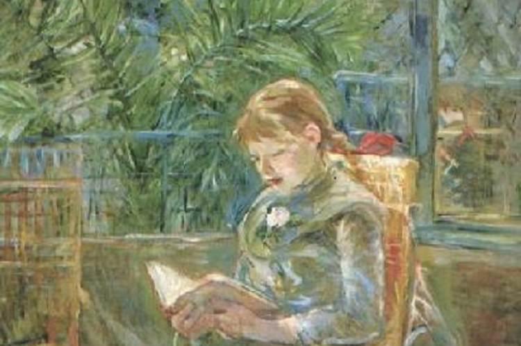Berthe Morisot: Olvasó lány (1888)