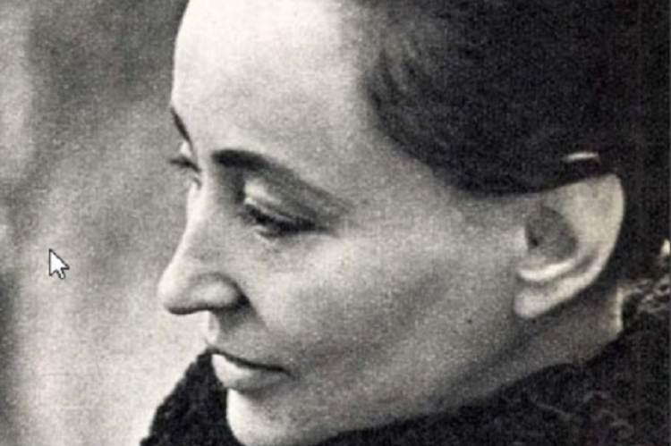 Spiró Éva (Koffán Károly felvétele, 1969, részlet)