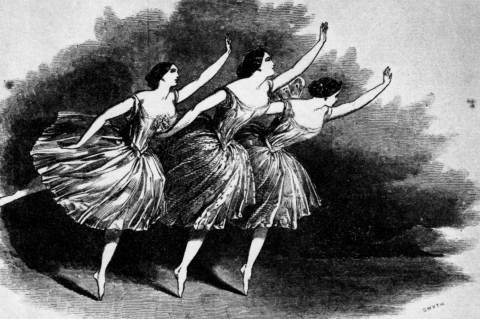 Carolina Rosati, Carlotta Grisi, & Fanny Cerrito