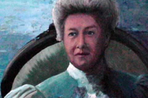 Edith Archibald - Jo Napier festménye