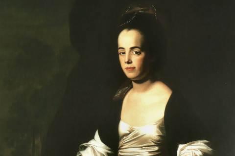 Judith Sargent Murrey - John Singleton Copley festménye (Részlet)