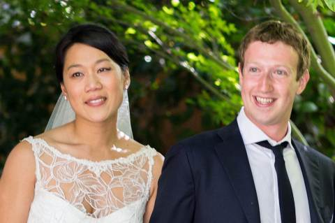 Mark Zuckerberg és Priscilla Chan (Foto: Huffington Post)