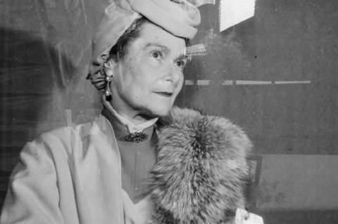Péchy Blanka 1957-ben (Fotó: Kotnyek Antal)