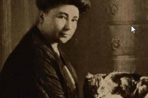 Teleki Sándorné Szikra (Tolnai Világlapja, 1914)