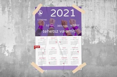Feminista éves lila falinaptár (PDF)