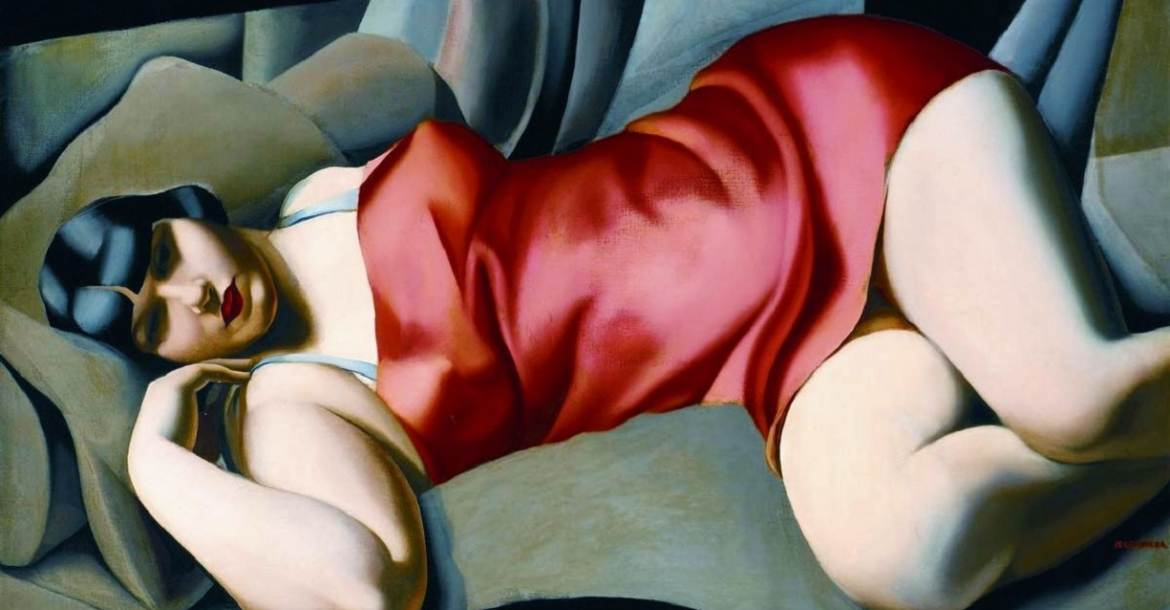 Tamara de Lempicka: La Tunique Rose