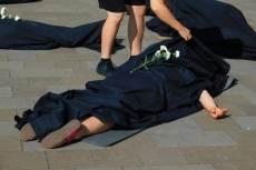 A Nőkért Egyesület demonstrációja 2019. szeptemberében (Fotó: Nyíri András)