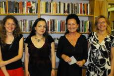 A jelen levő Nőkért-tagok: Barna Emília, Antoni Rita, Retek Erika, Juhász Valéria