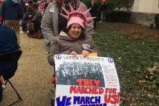 Women's March, Washington, fotó: Singer Ilona