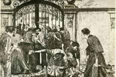 Käthe Kollwitz: Lázadás (1897)