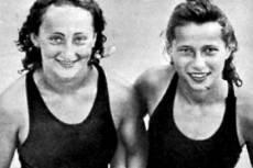 Lovász Gitta és Novák Ilona 1940-ben