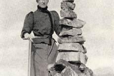 Annie Smith Peck amerikai tanár, író, hegymászó
