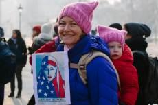 Women's March, Budapest, fotó: Janet Kelley