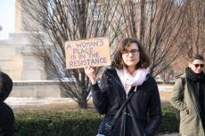 Women's March, Budapest, fotó: Lindsey Leigh Manzella