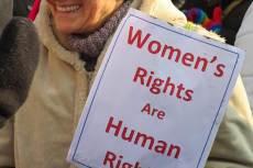 Women's March, Budapest, fotó: Sara Moscogiuri