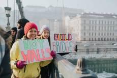 Women's March, Budapest, fotó: Juhász Ardell Dana