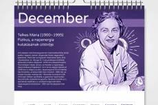 2021. különleges nők naptár PDF formátumban