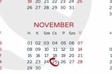 Nőkért mini-kalendárium