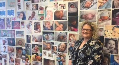 Louise Brown egy holland meddőségi klinikán
